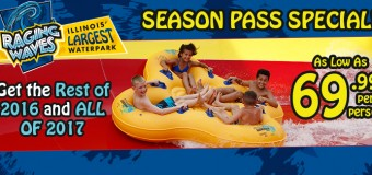 Raging Waves Season Pass Discount Tickets