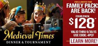 Medeival Times Coupon