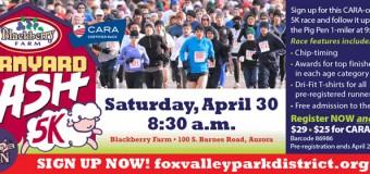 Fox Valley Park District Barnyard Dash 5K
