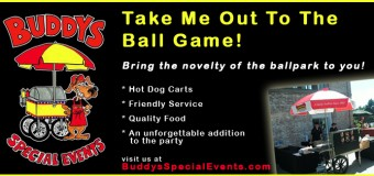 Buddy's Special Events Take Me Out To The Ballgame Coupon