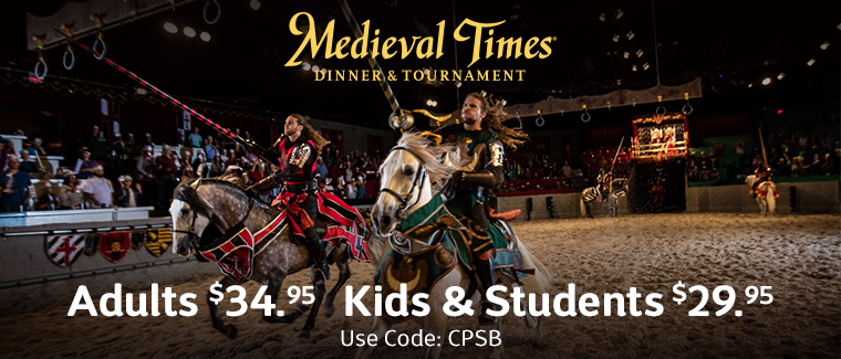 Medieval Times Coupon