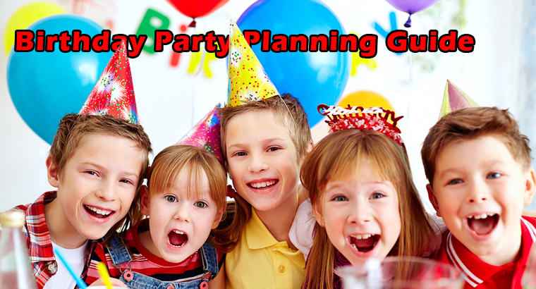 WELCOME TO THE CHICAGO AREA BIRTHDAY PARTY PLANNING GUIDE
