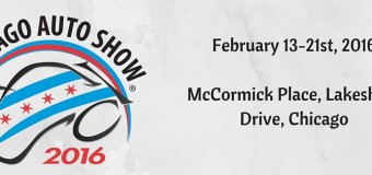 What You Need to Know For the 2016 Chicago Auto Show