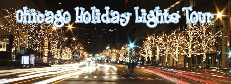 Chicago Holiday City Lights Party Bus Tour