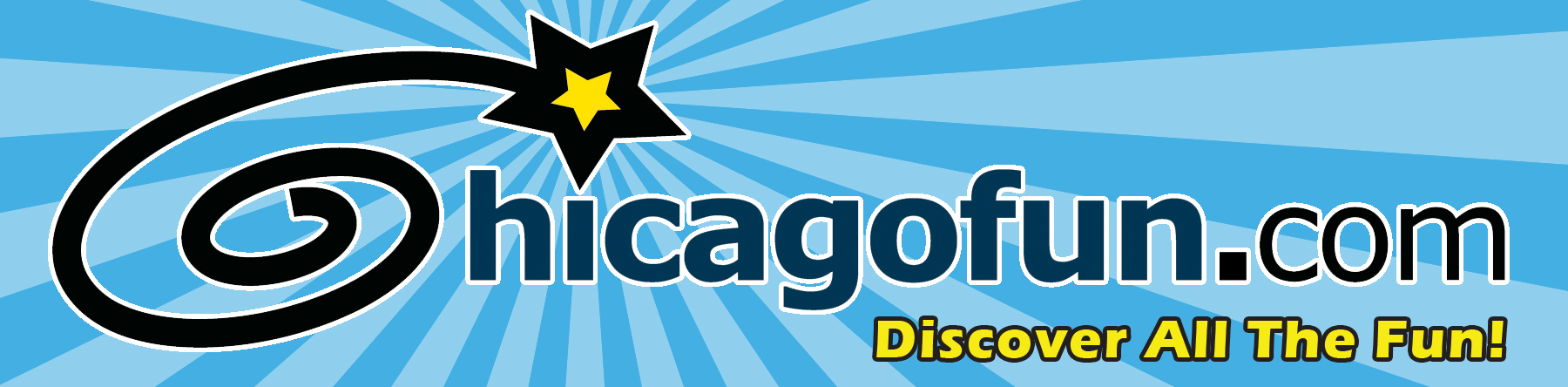 chicago fun logo blue