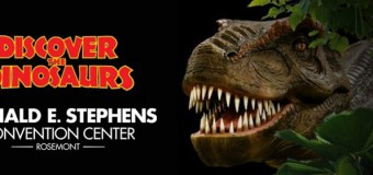 Discover The Dinosaurs Show Chicago Rosemont Convention Center