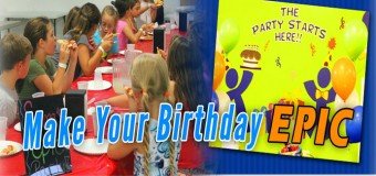 Epic Air Birthday Party Coupon