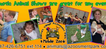 Santa's Village Azoosment Park Exotic Animal Shows