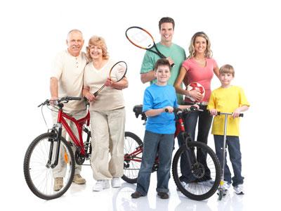 Sport Fitness Family Fest Event