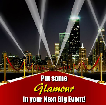 Hollywood Night Lighter Chicago Searchligh Rentals