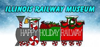 Illinois Railway Museum Happy Holiday Polar Express Railway Event