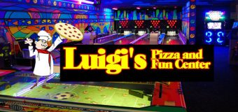Luigi's  Pizza and Fun Center Family Fun Package