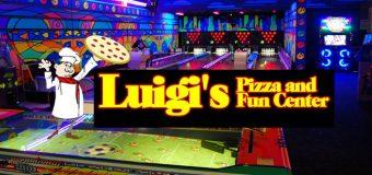 Luigi's Pizza Fun Center Aurora President's Day Weekend Deal