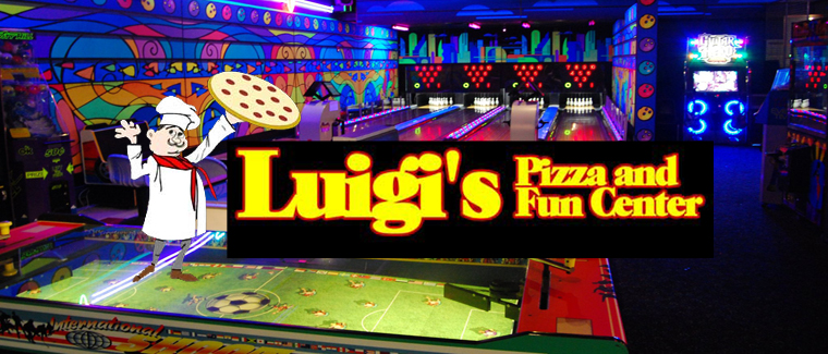 Luigi's Pizza Fun Center Aurora President's Day Weekend Deal