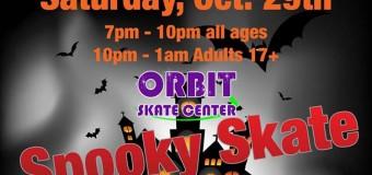 Halloween Party Fun At Orbit Skate Center