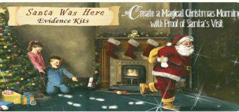 Santa Was Here Evidence Kits