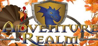 Gobble Up Some Fun And Savings At Adventure Realm This Thanksgiving!!