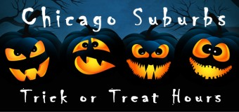 2016 Trick or Treat Hours For Chicago Suburbs
