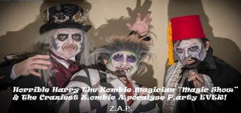 """Horrible Harry The Zombie Magician """"Magic Show"""" & The Craziest Z.ombie A.pocalyse P.arty EVER!"""