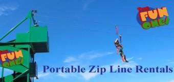 The Fun Ones Inflatable Zip Line Rental Coupon