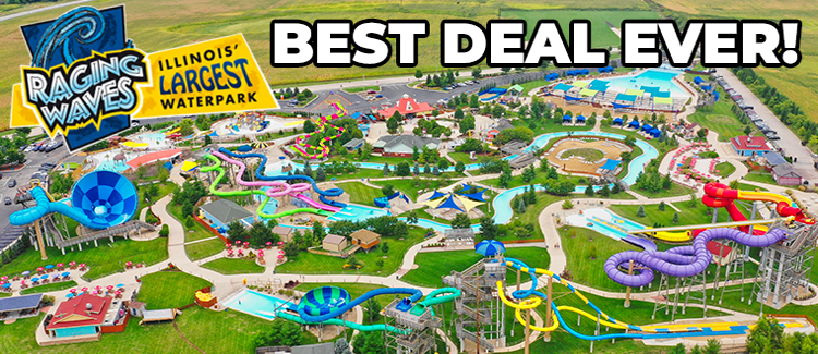 Raging Waves Waterpark Discount Tickets