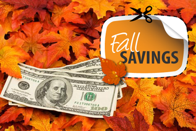Chicago Fun Fall Savings