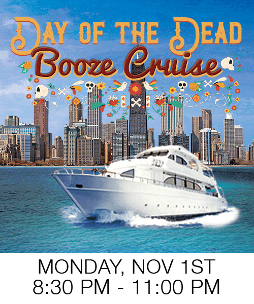 Chicago Party Boat Haloween Booze Cruise