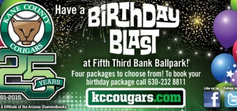 Kane County Cougars Birthday Party Packages Coupon