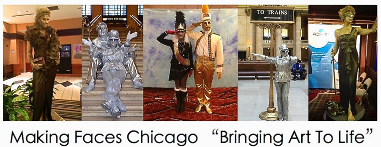 Chicago Human Living Statues Coupon