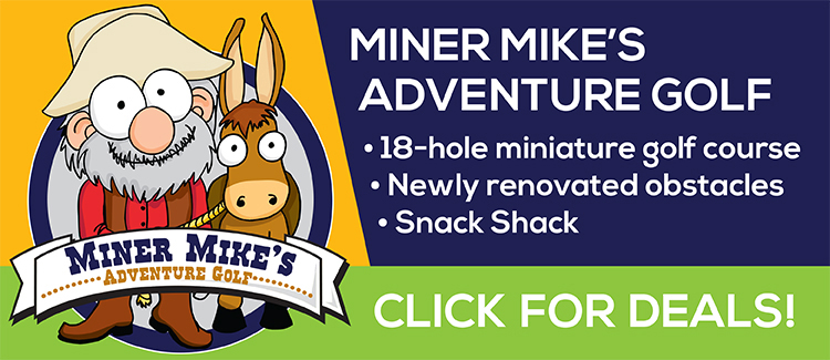 Miner Mike's Adventure Golf Coupon