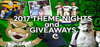 2017 Kane County Cougars Theme Nights
