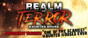 Realm of terror discount tickets