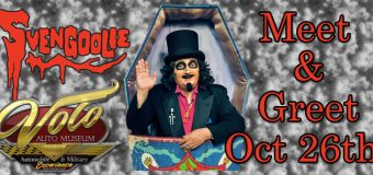 Svengoolie Visits Volo Auto Museum on October 26, 2019
