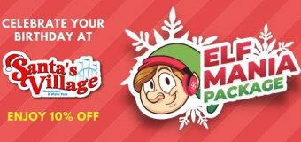 Santa's Village Birthday Party Packages