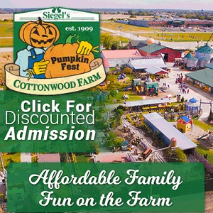 Sigels Cotton Wood Farm Discount Tickets