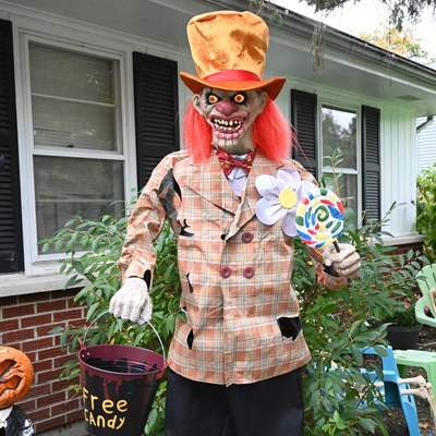Gallery of Ghoulish Homes Tour St Charles Illinois