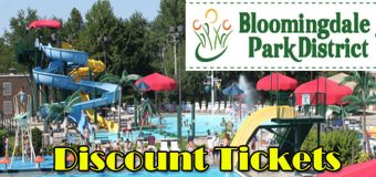 Discount Waterpark Tickets at The Oasis Water Park Bloomingdale Park District