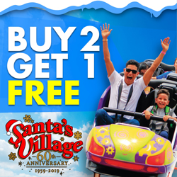 Buy two, Get one FREE General Admission Tickets coupon
