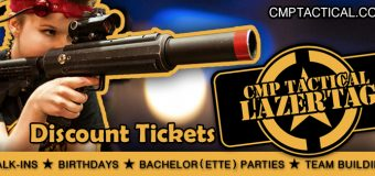 CMP Tactical Lazer Tag Lake Geneva Coupon