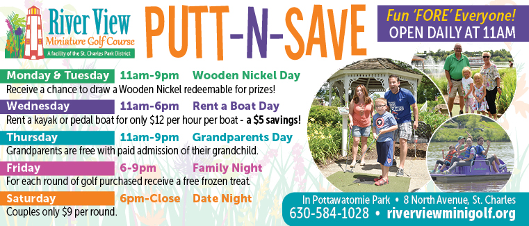 River View Miniature Golf Course Daily Specials