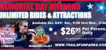 Memorial Day Weekend UNLIMITED Fun at Haunted Trails & Enchanted Castle