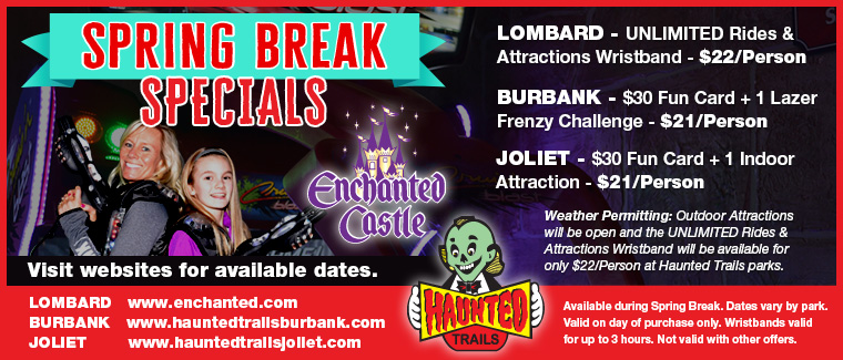 Enchanted Castle and Haunted Trails SPRING BREAK & EASTER WEEKEND FUN!