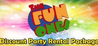 The Fun Ones Discount Party Rental Packages