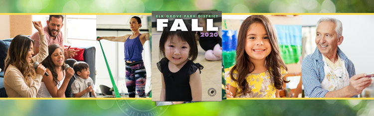 Elk Grove Park District Fall 2020 Online Brochure