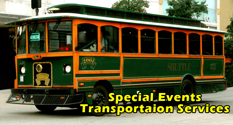 CHICAGO AREA SPECIAL EVENTS TRANPORTATION SERVICES