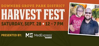 Downer's Grove Park District's Harvest Fest Saturday September 28th