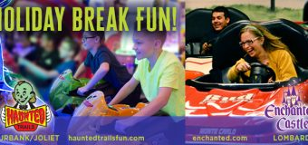 Holiday Break Fun at Haunted Trails & Enchanted Castle!