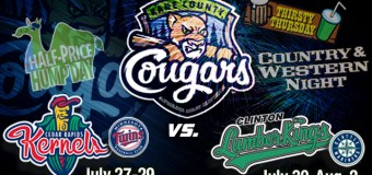 Kane County Cougars Homestand Preview July 27 – August 2