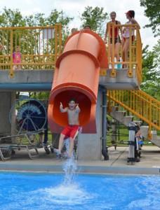 Itasca Boy on Drop Slide 300