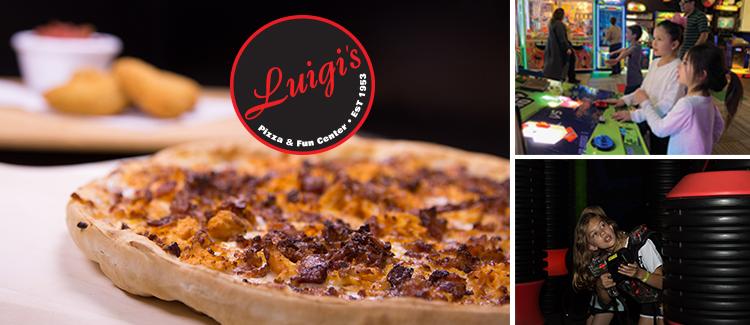 Luigi's Pizza Fun Center Coupons Discounts